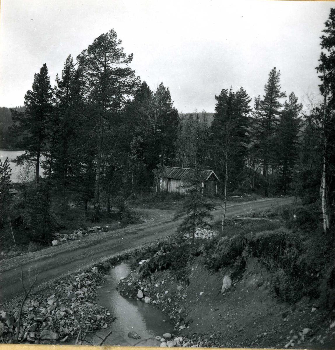 Inntak og dam. Våmar vatn + Kåsvatn  (36)
