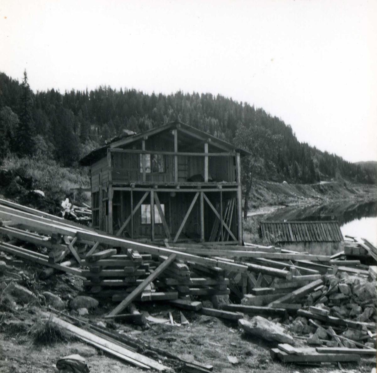 Inntak og dam. Våmar vatn + Kåsvatn  (38)