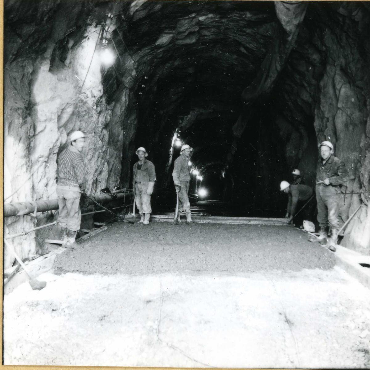 659-1 Støyping av dekke i A-tunnel Byrte