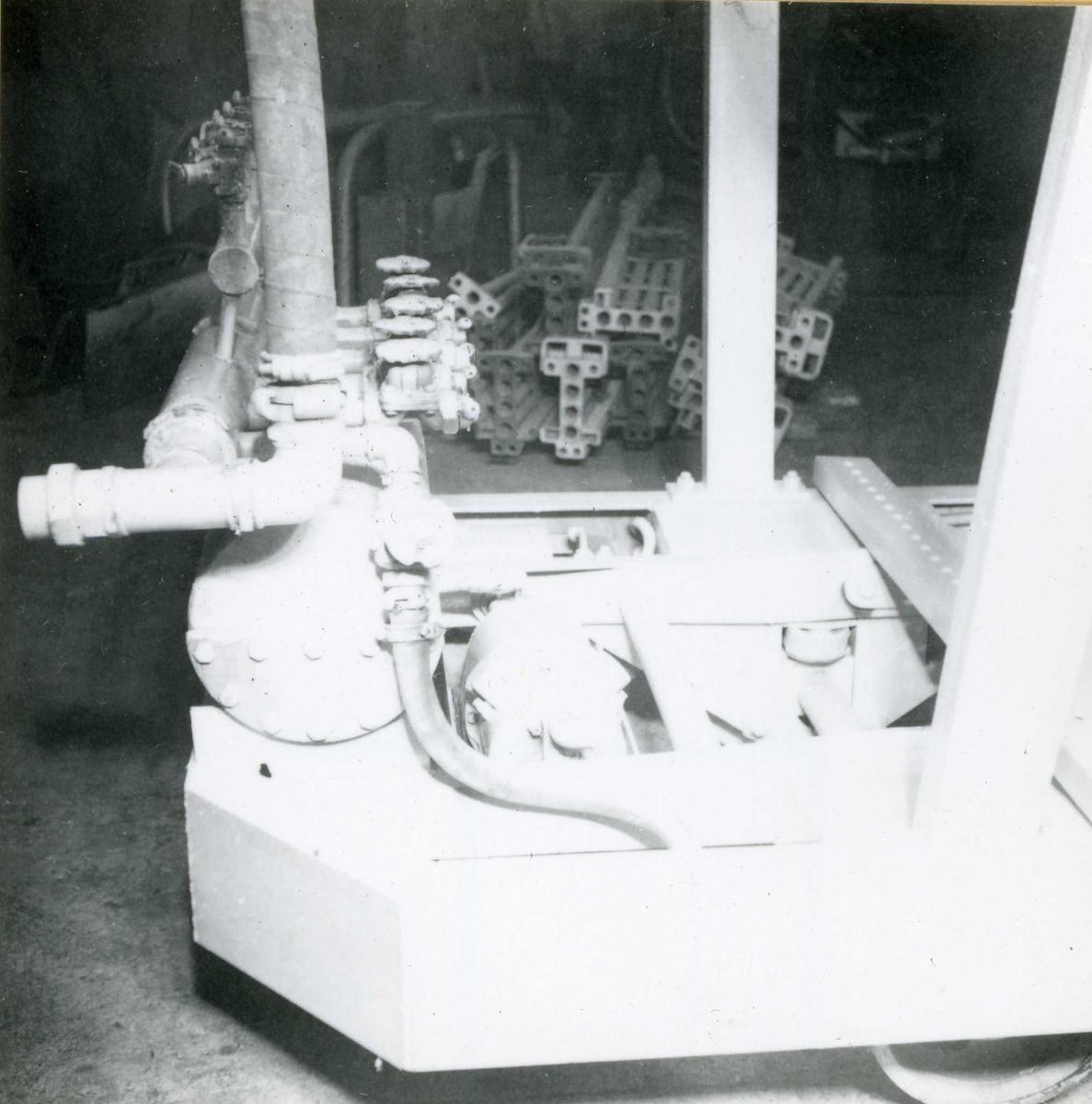 Dalen 31, maskiner og deler