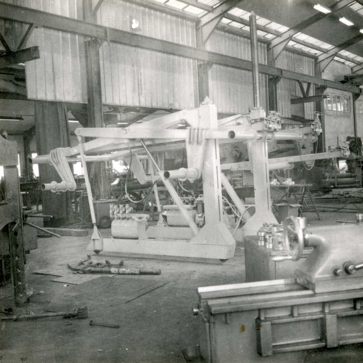 Dalen-lageret 27, maskiner