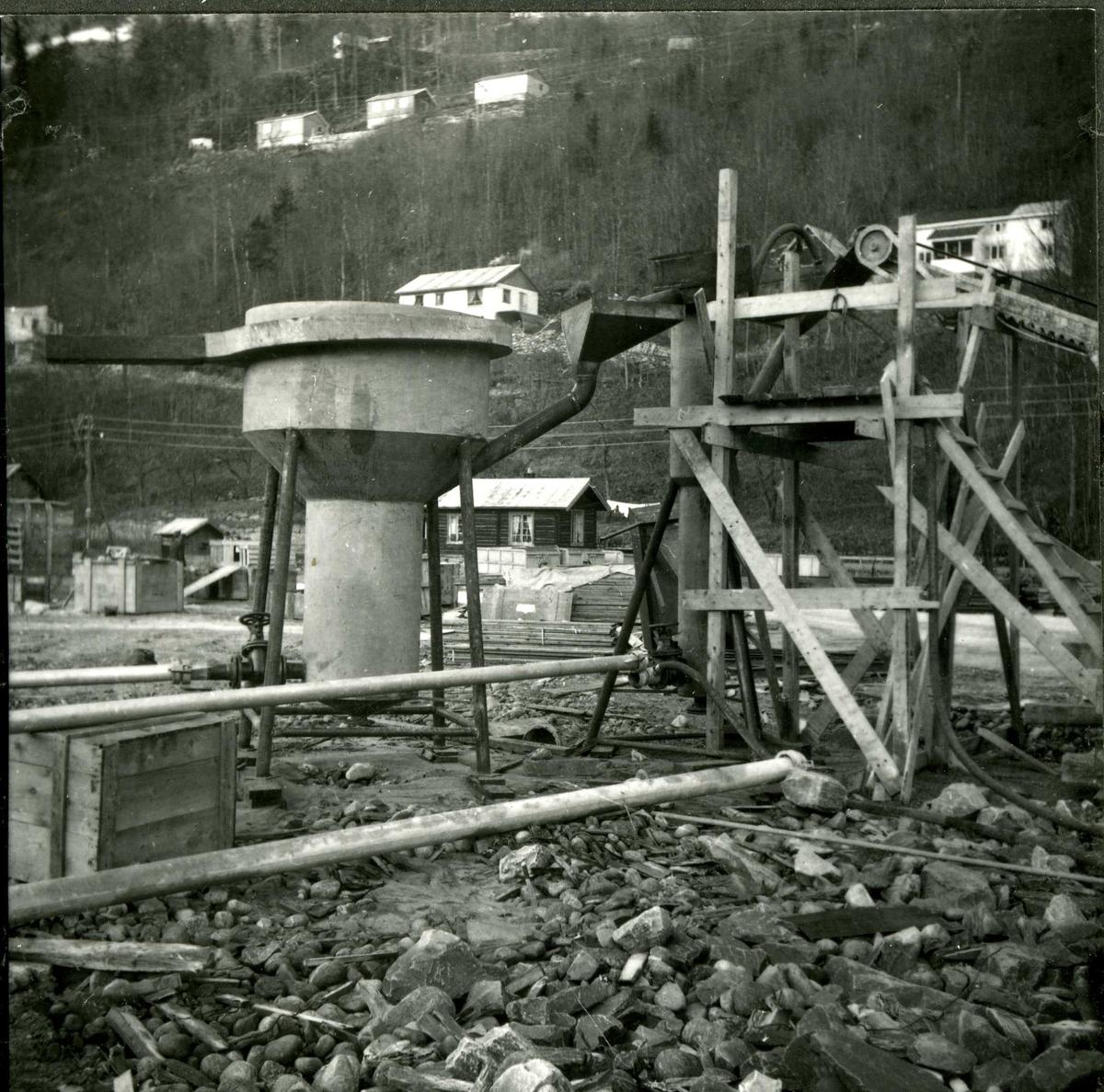 Eidsborg 40, betong
