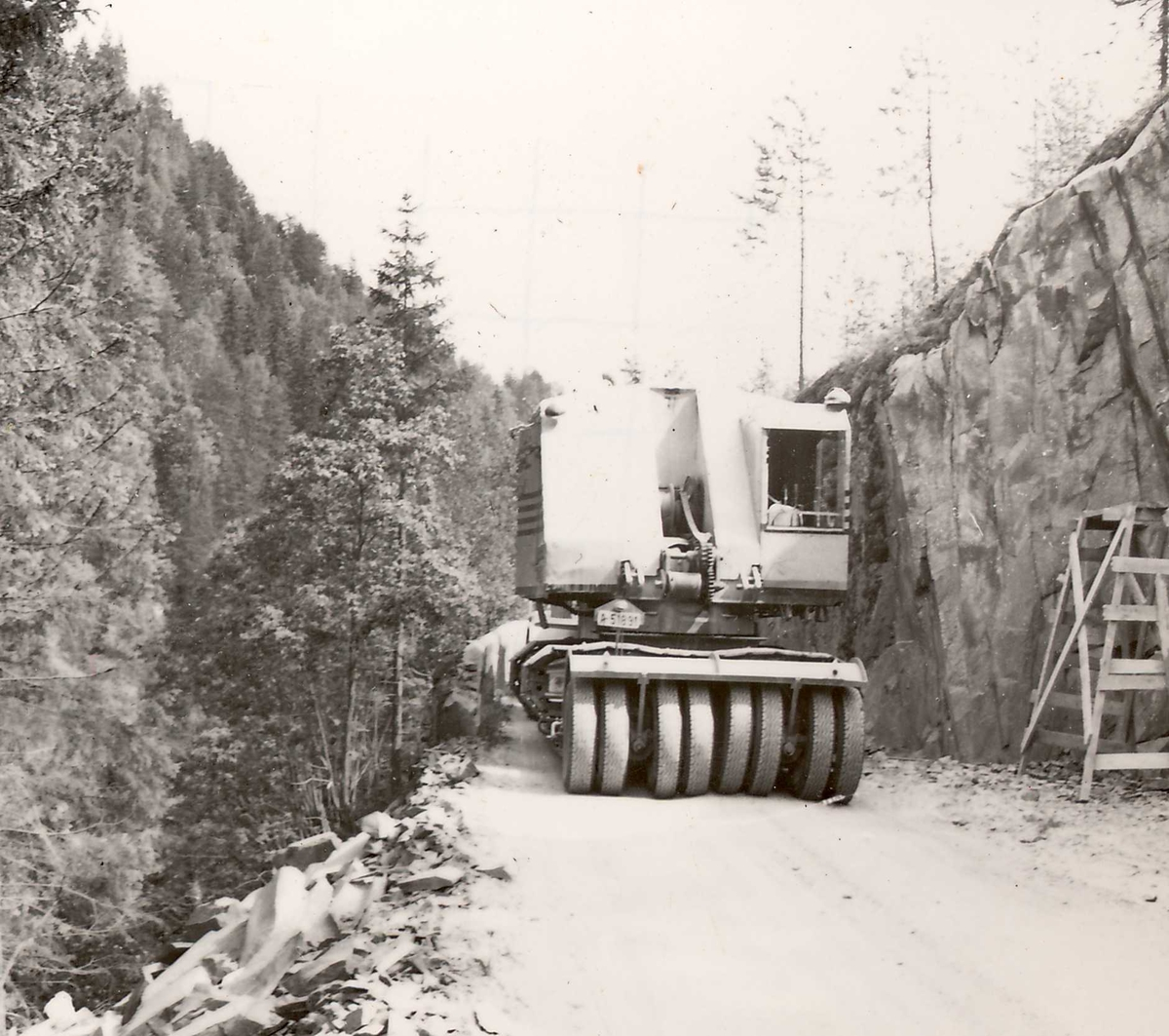Transp Åmot- Dalen 18, juli 58