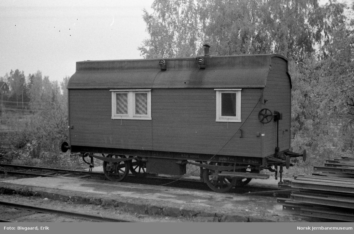 Losjivogn litra Rc nr. 400 på Jaren stasjon
