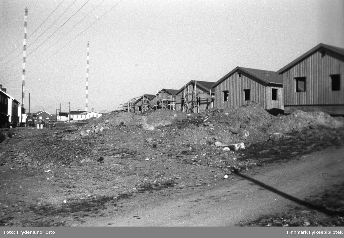Gjenreisningshus i Grensen i Vadsø