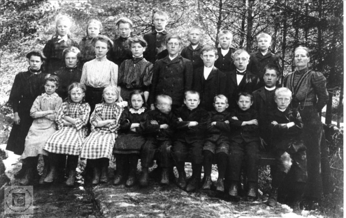 Brusletta skule 1908