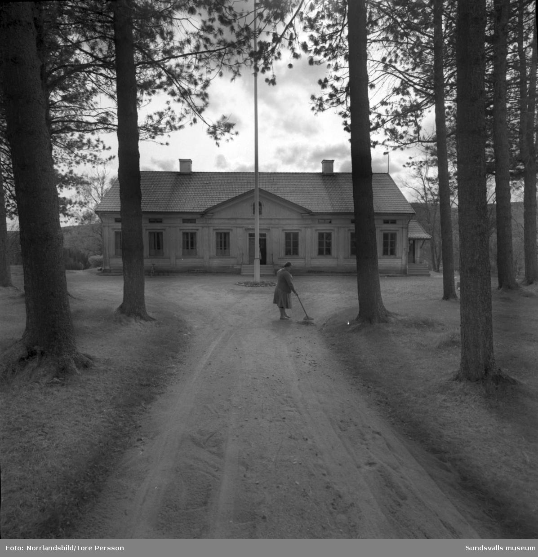 Gamla skogsskolan i Indal.