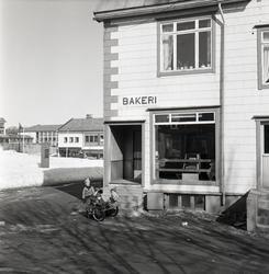 Johansens bakeri i Torggata på Sortland 1963