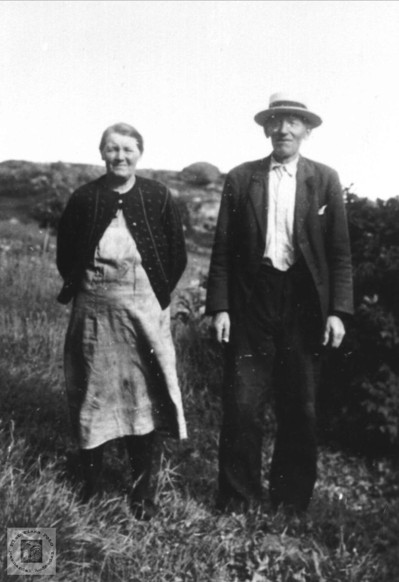 Ektepar.Randi og John Tisland.