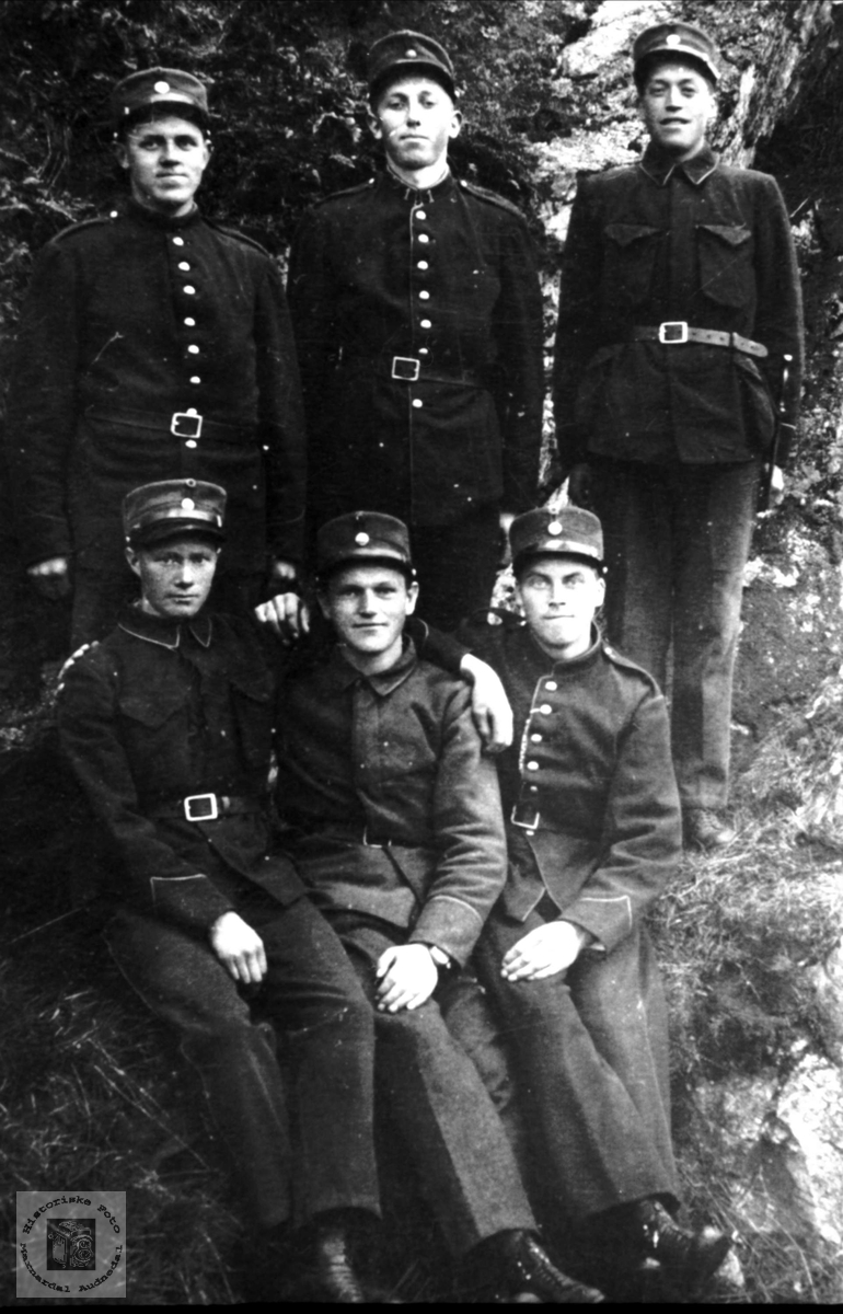 Soldater fra Øyslebø og Laudal.