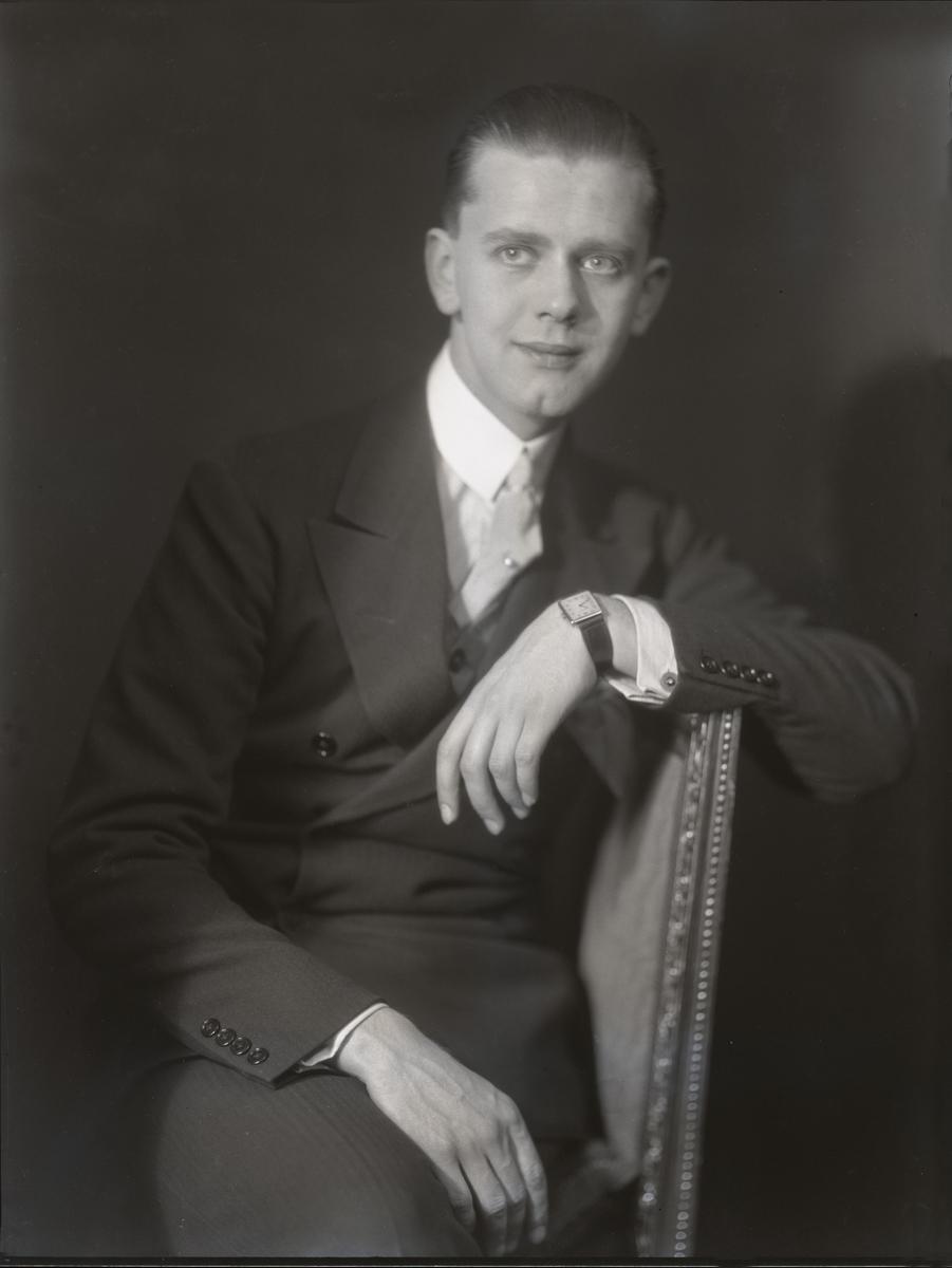 Portrett av Per Aabel.