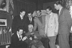 Skøyte møte 1950-tallet