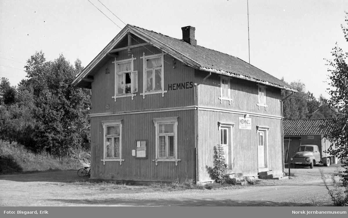 Hemnes stasjonsbygning
