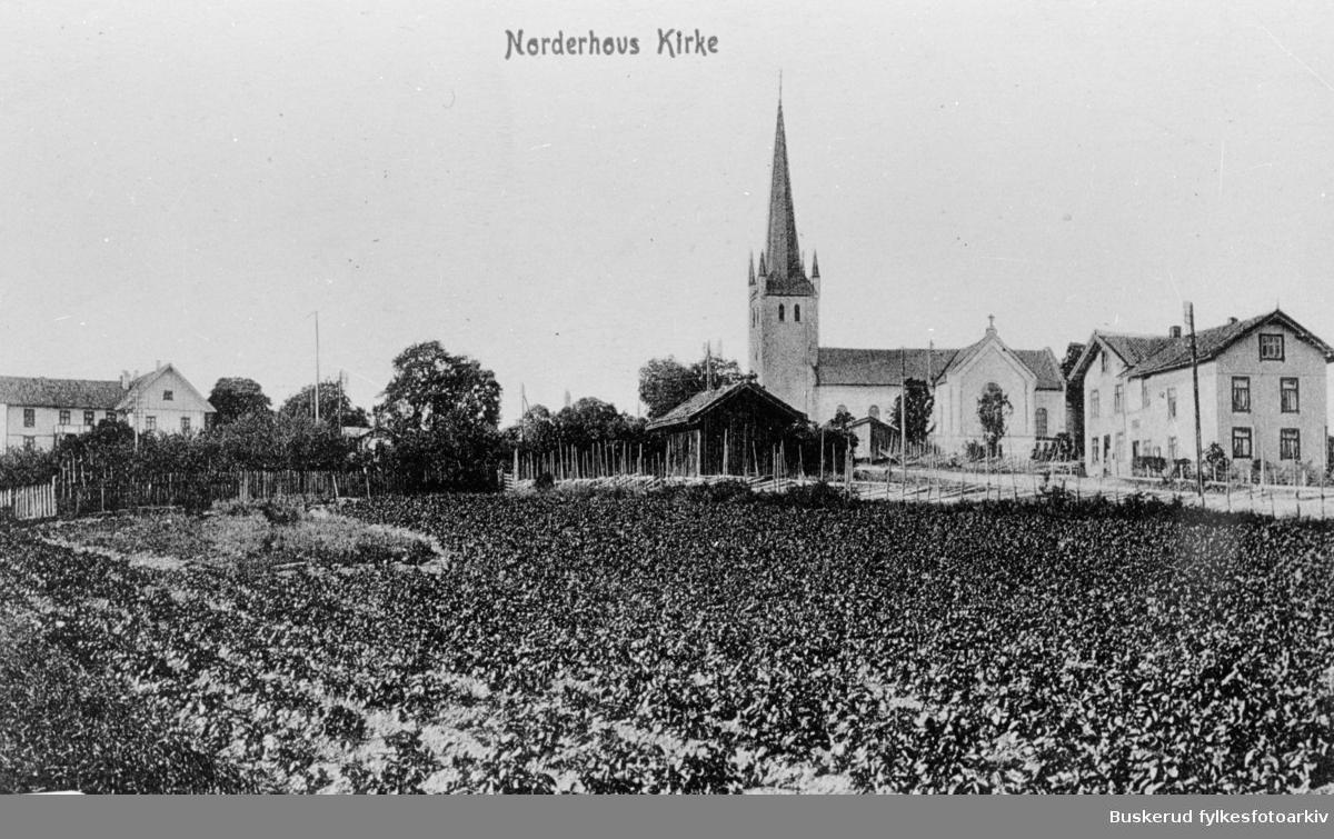 Norderhov kirke og Norderhov prestegård
