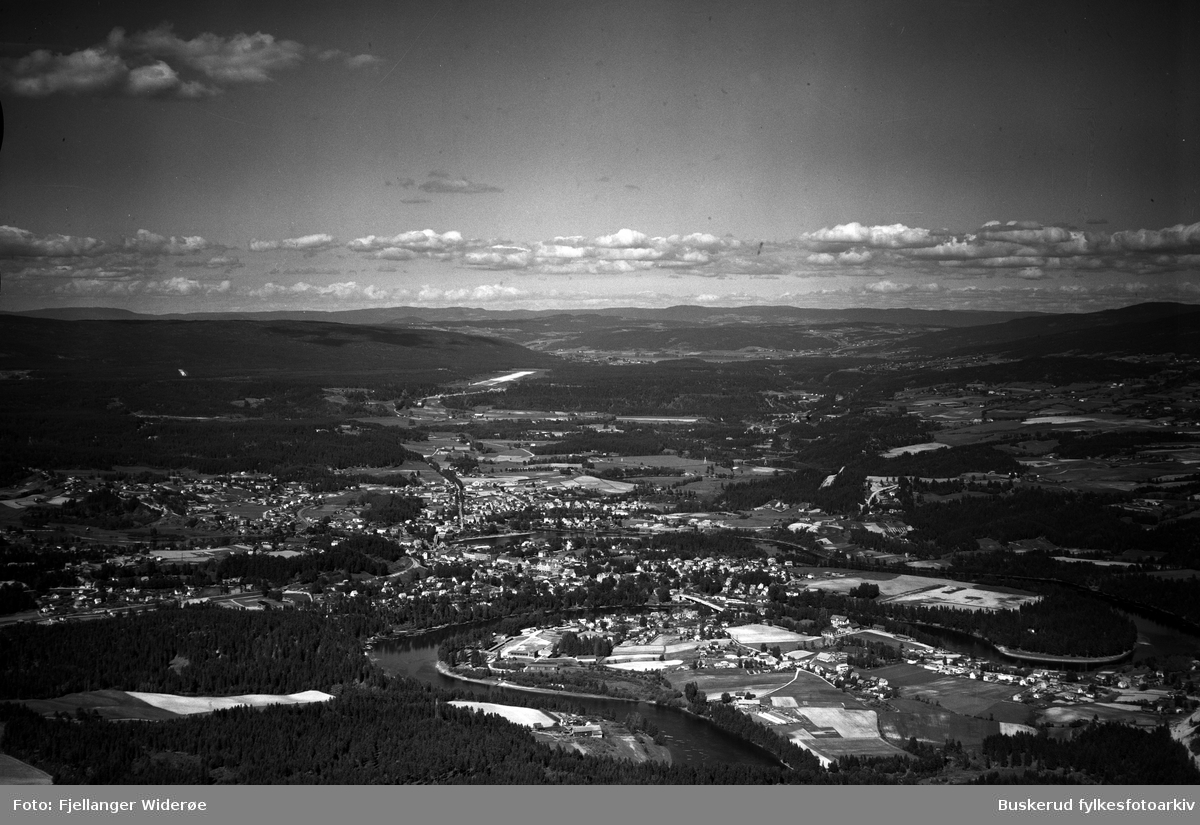Hele byen fra sør. 1947