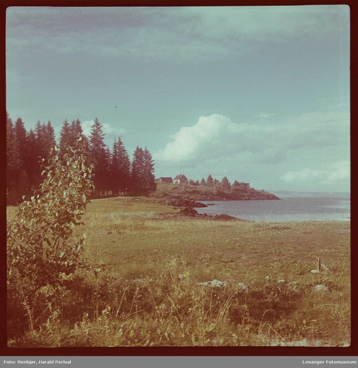 Utsikt ved Sjøbadområdet.