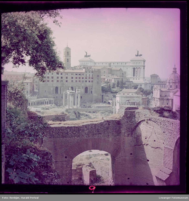 Utsikt i Roma, Forum Romanum.