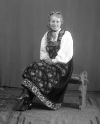 Portrett av Ingrid Holde.