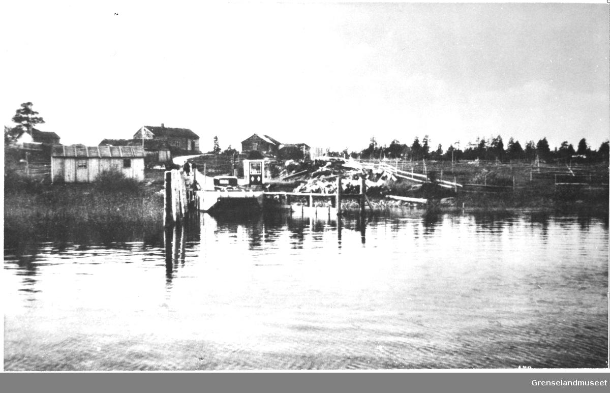 Fergeleiet ved Sundvann Turiststasjon, Svanvik ca. 1930