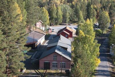 Luftbilde av Saggrenda. Foto/Photo