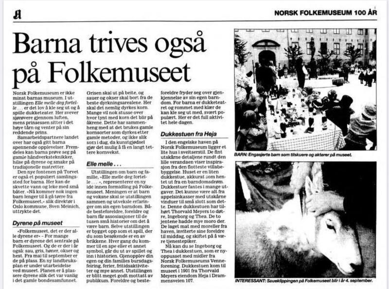 Aftenposten 30.8.1995 (Foto/Photo)