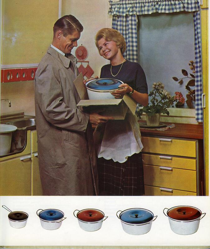 Kjøkkendrøm i 1965 (Foto/Photo)
