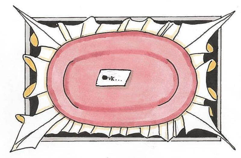 Serveringsfat. Illustrasjon: Ida Fløystad Brevig (Foto/Photo)