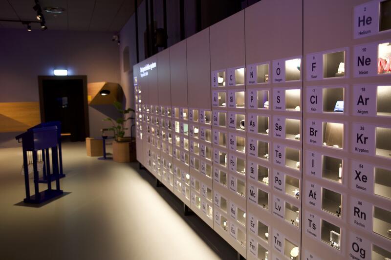 Bildet viser Norges fineste periodesystem (Foto/Photo)