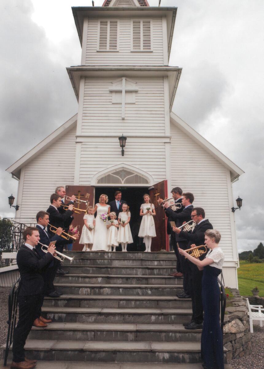 bryllup i kirken (Foto/Photo)