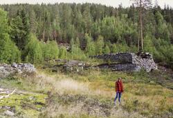 Renneutløpet – fotstykket – til Nye Ravnås pukkverk. (Foto/Photo)