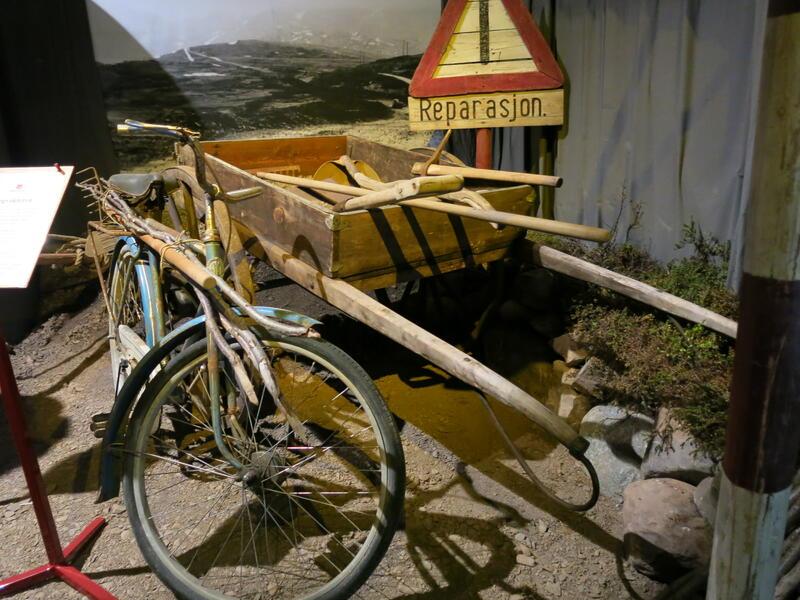 Fra utstillingen. Foto: Norsk vegmuseum (Foto/Photo)