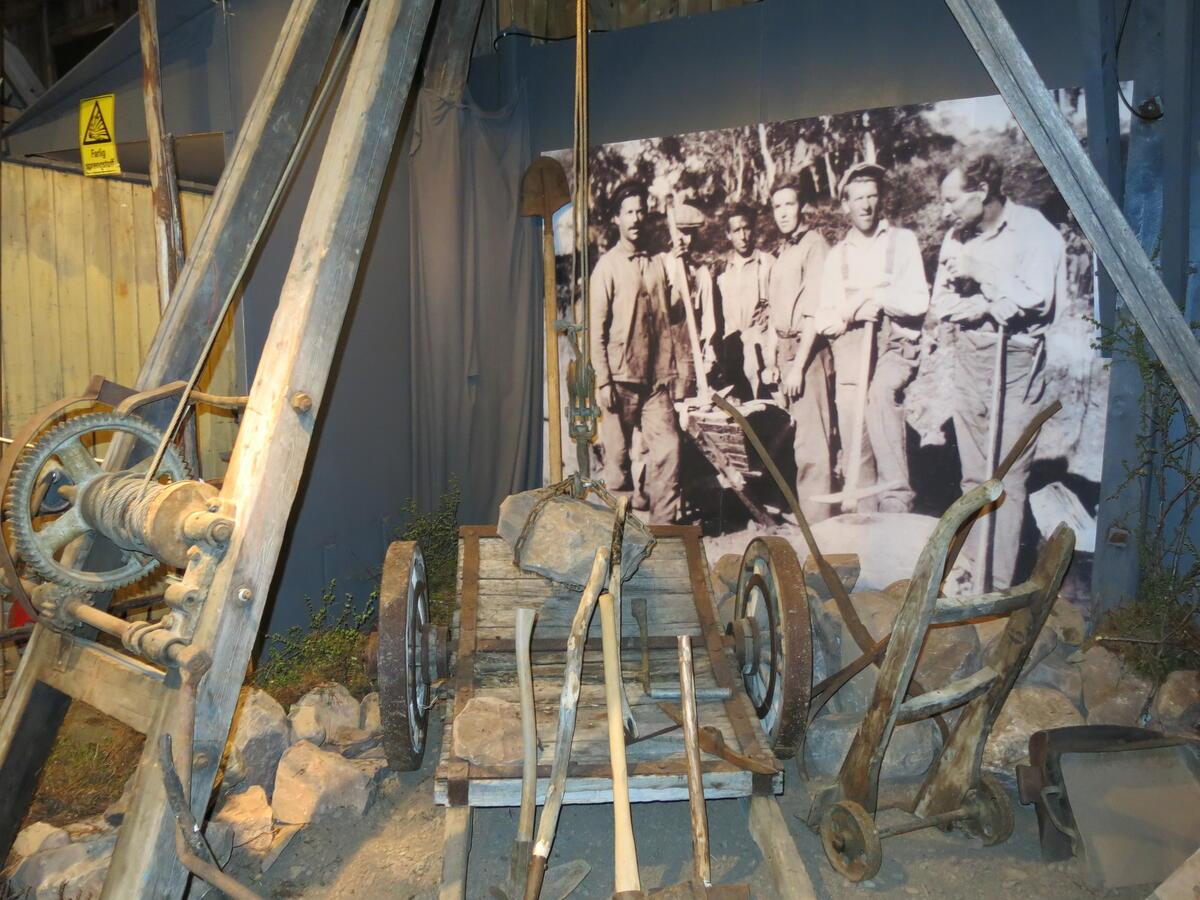 Fra utstilling på Skiippagurra vegstasjon. Foto: Norsk vegmuseum (Foto/Photo)