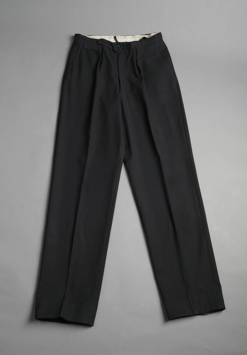 Uniform, stuert. Den norske Amerikalinje (NAL). Jakke og bukse.