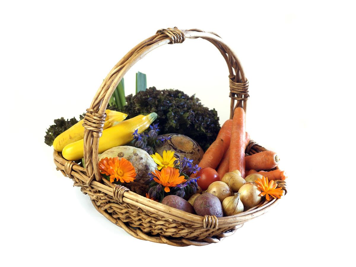 korg med grønnsaker (Foto/Photo)