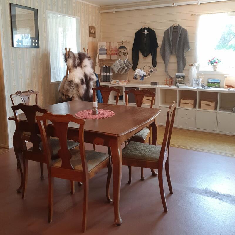 Kafebord i Emigranten, kafe og museumsbutikk (Foto/Photo)
