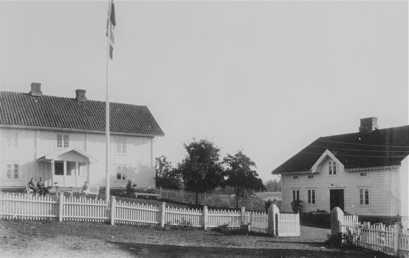 Alm pensjonat, Gran. Foto: Randsfjordmuseet. (Foto/Photo)