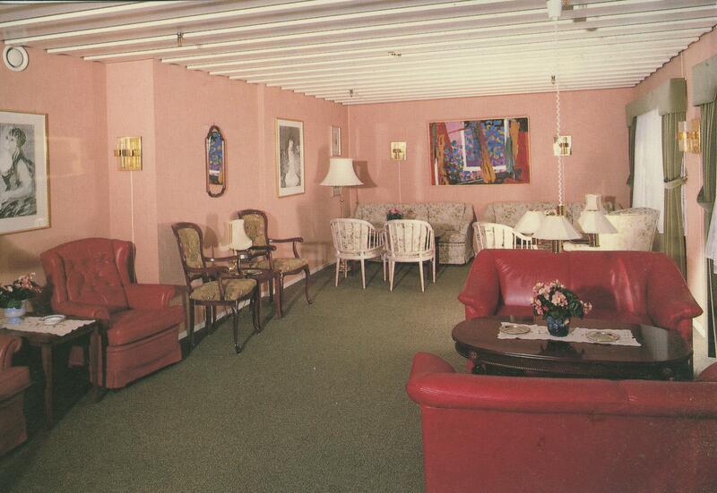 Hadeland Turisthotell, slutten av 1970-åra. Foto: Torkild Andvord/Randsfjordmuseet. (Foto/Photo)
