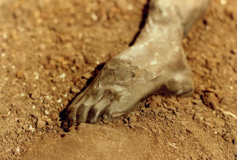 Grauballemannen ble funnet i en myr i Danmark. Hår, hud og bløtvev er godt bevart på det trolig over 2000 år gamle liket. Foto: Sven Rosborn (Foto/Photo)
