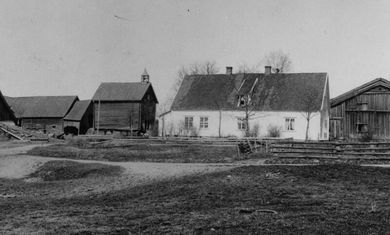 Gamle Hvam 1910 (Foto/Photo)