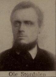 Maskinkjører fahrkunst Ole S. Stordalen (1850-1935) (Foto/Photo)
