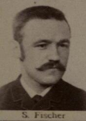Smedsvenn Severin Fischer (1859-1923) (Foto/Photo)