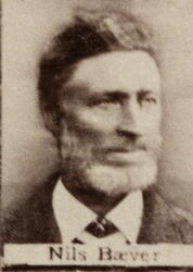 Myntarbeider Nils D. Wigant (1836-1915) (Foto/Photo)