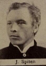 Ertssjeider Johan A. Spiten (1859-1919) (Foto/Photo)