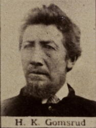 Tønnekjører Halvor K. Gomsrud (1838-1922) (Foto/Photo)