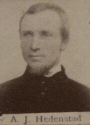 Borhauer Anders J. Hedenstad (1839-1909) (Foto/Photo)