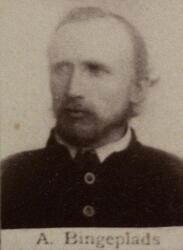 Borhauer Anders E. Bingeplass (1841-1920) (Foto/Photo)