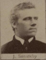 Tønneknekt Nils Johan Sønsteby (1862-1895) (Foto/Photo)