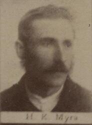 Ertssjeider Hans Chr. Myhra (1857-1930) (Foto/Photo)