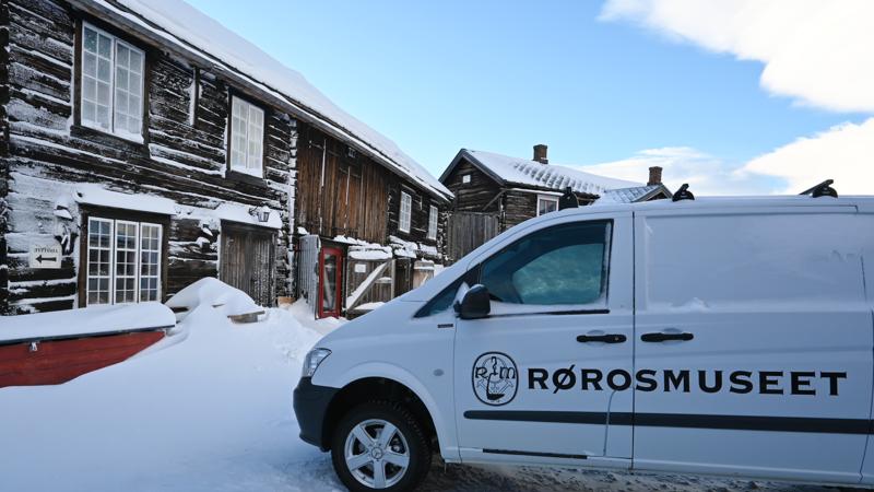 Kurantgården og profilert bil (Foto/Photo)