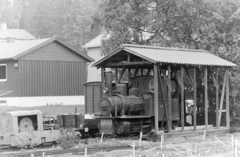 Lokstallen i gartneriet på Haslum. Foto: Olaf Wiegels (Foto/Photo)